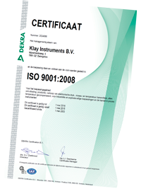Klay Instruments download certificates