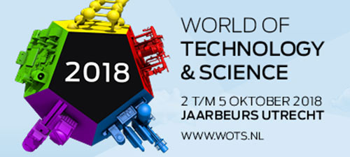 Klay Instruments at the World Of technology 7 Science 2018 in Utrecht, The Netherlands