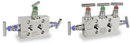 Klay Instruments 3- en 5-weg manifold
